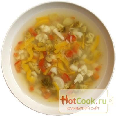 Овощной суп без картофеля рецепт